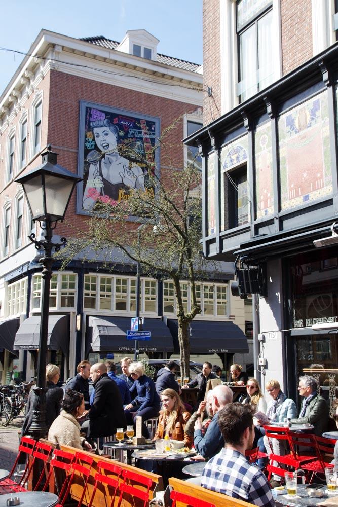 Rue Oude Binnenwedg à Rotterdam
