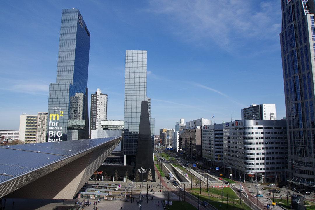Rooftop du Suicide Club - Rotterdam