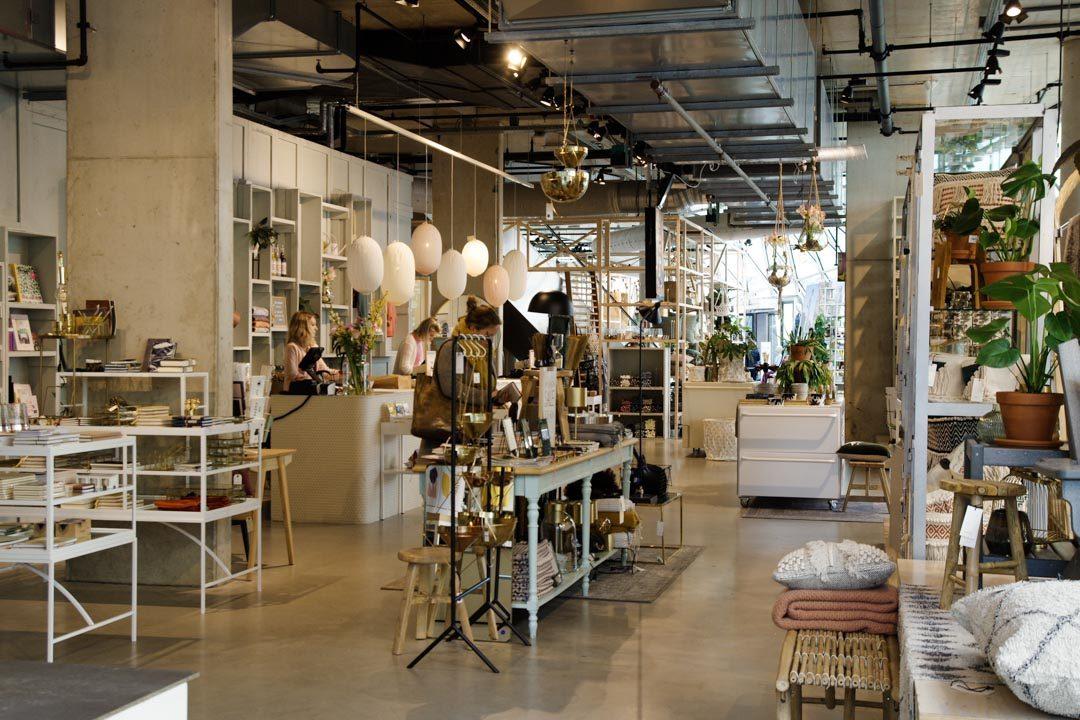 Intérieur du concept store Sissy Boy - Eindhoven