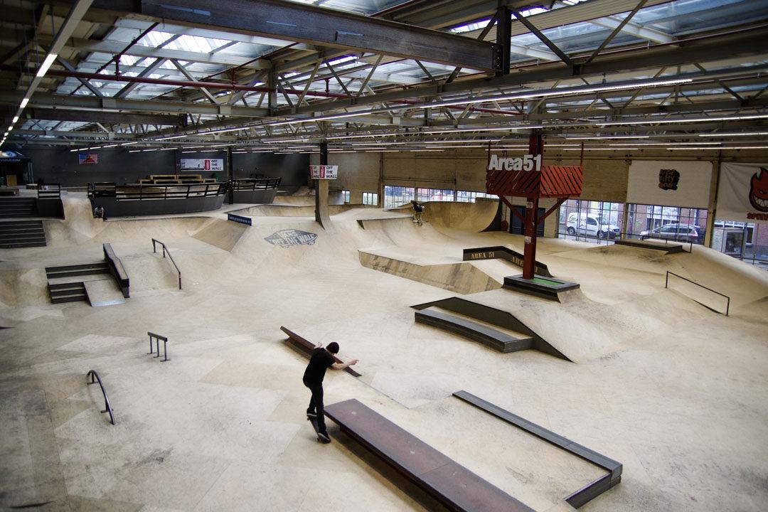 Skate Park Area 51 Eindhoven