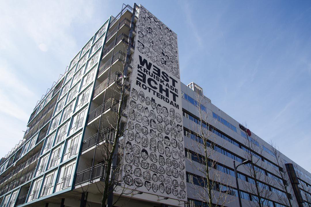 Street Art dans le quartier de la Gare Centrale - Rotterdam