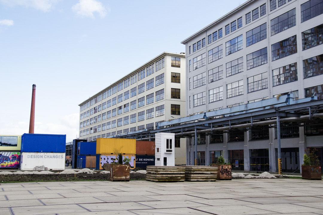 Le quartier Strijp-S dans des anciennes usines Philips à Eindhoven