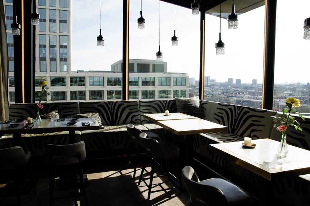 le bar branché du Suicide Club près de la Gare Rotterdam Centraal