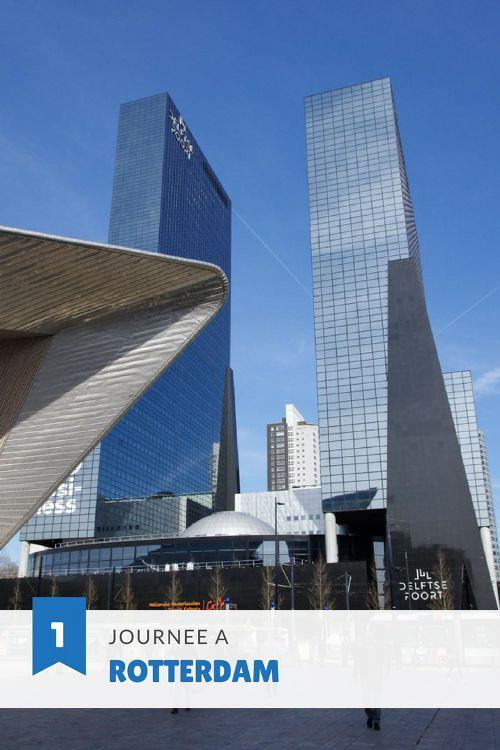 Le Guide Pratique pour visiter Rotterdam en une journée. Une ville des Pays-Bas à l'architecture contemporaine incroyable.
