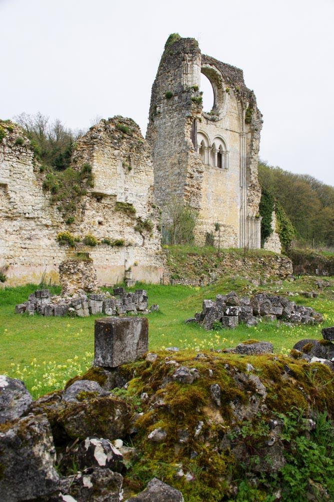 Ruines de l'Abbaye de Mortemer dans l'Eure