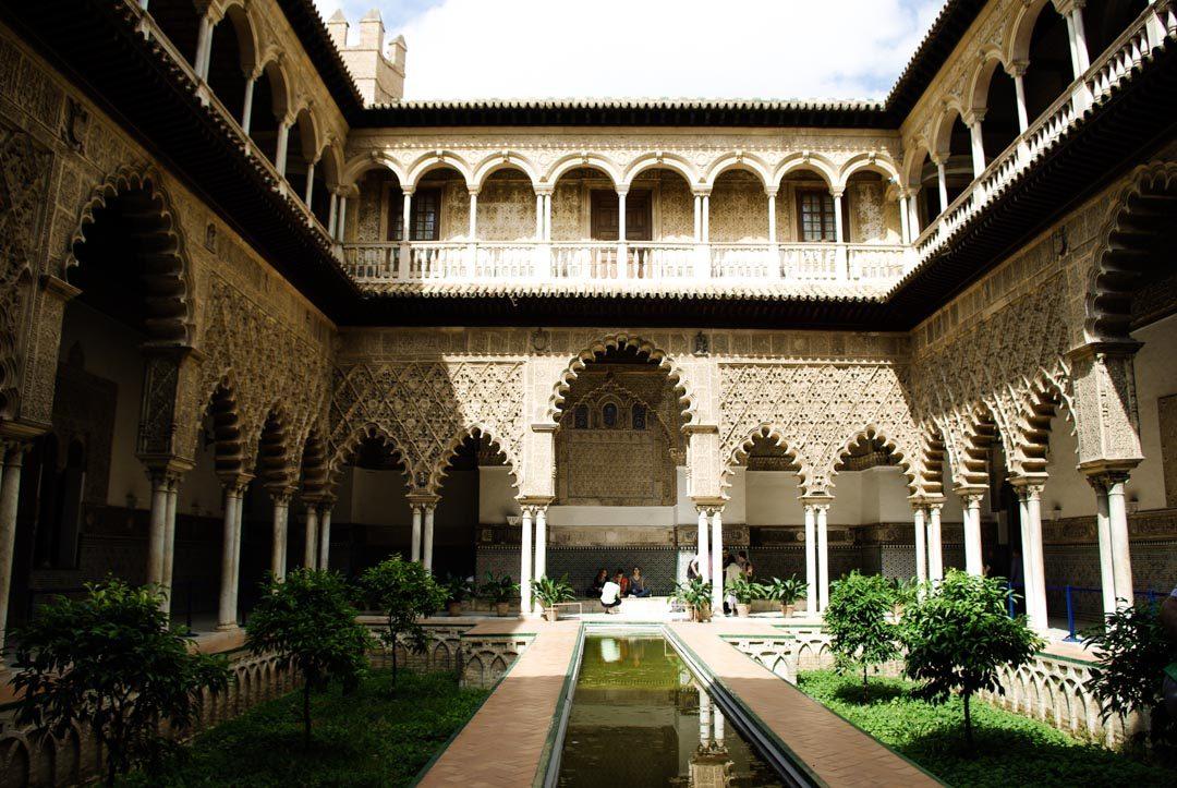 Cour des Demoiselles - Alcazar de Seville