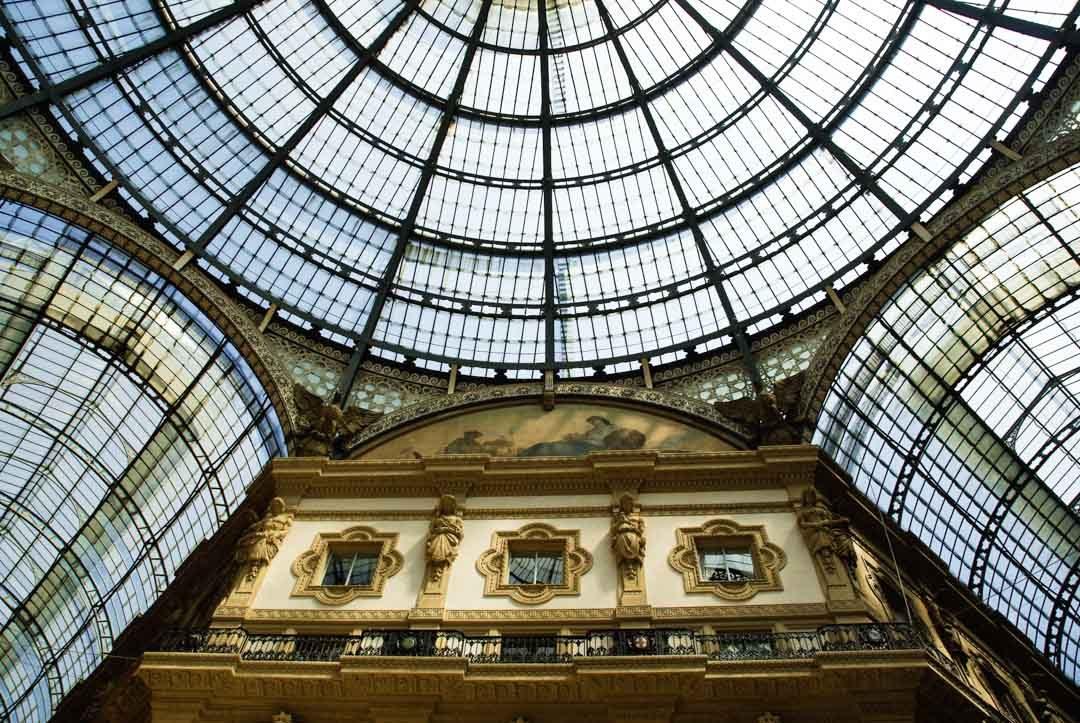 Coupole de la Galerie Vittorio Emanuele II - Milan