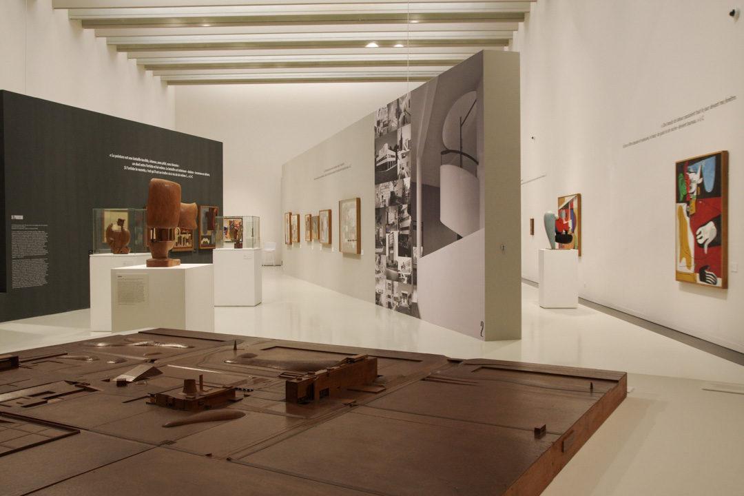 Exposition Le Corbusier au Musée Soulages