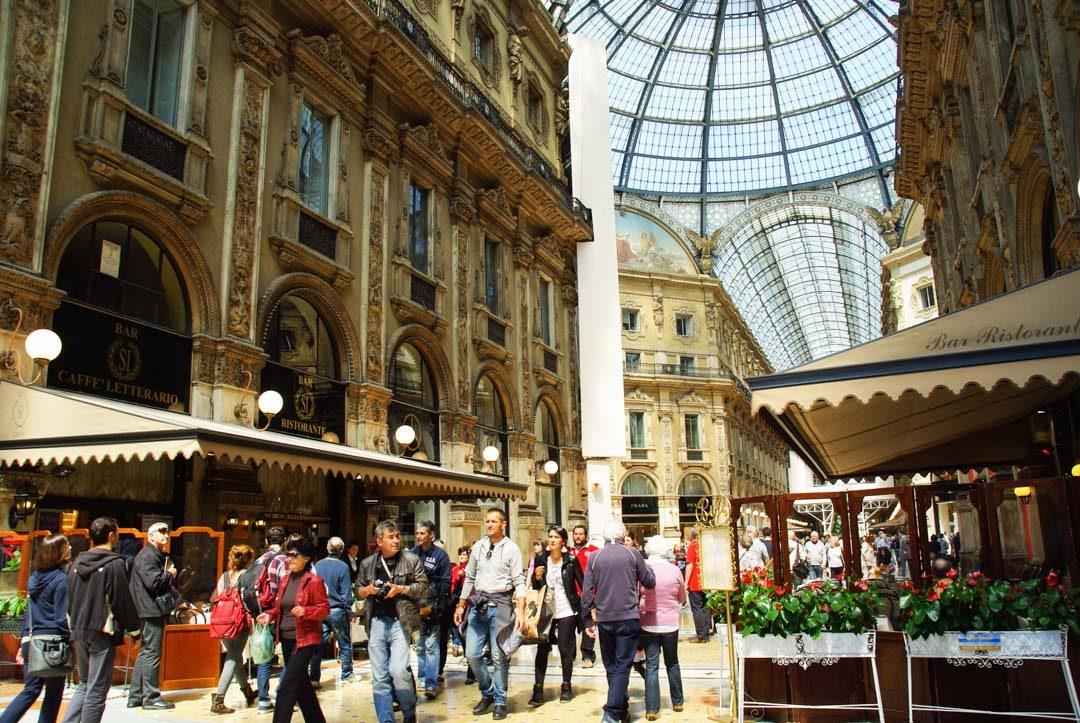 Galerie Vittorio Emanuele II - Milan