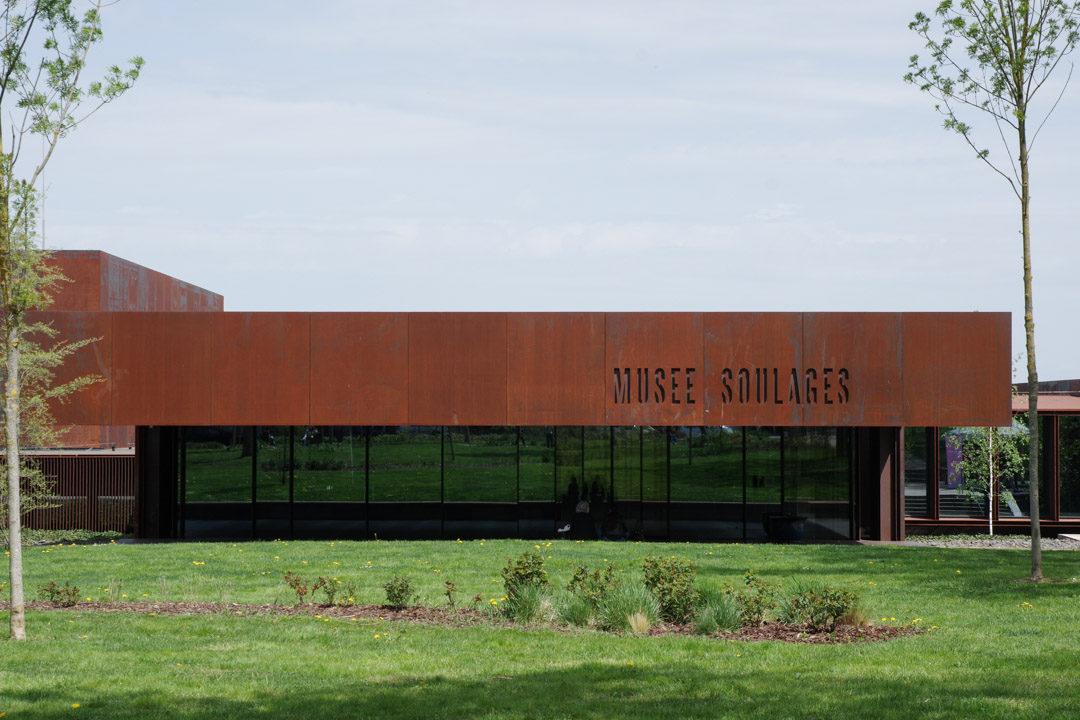 Architecture du musée Soulages à Rodez