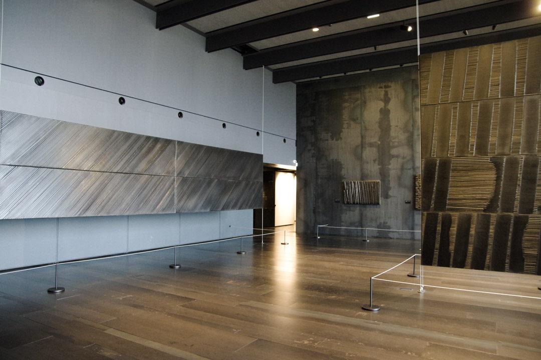 Salle des Outrenoirs - Musée Soulages - Rodez