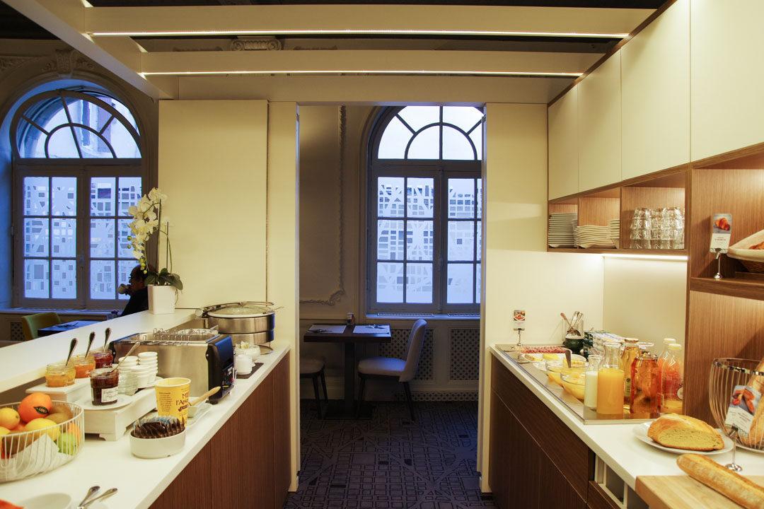 Petit Déjeuner de l'Hôtel Mercure de Rodez