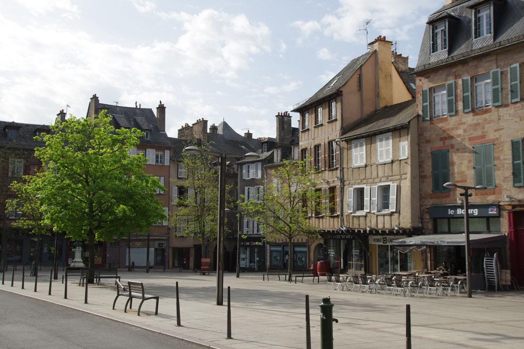 Place du Bourg - Rodez