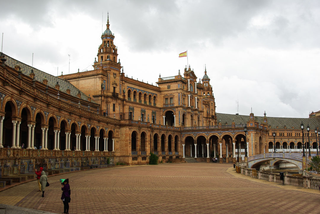 La Place d'Espagne à Seville