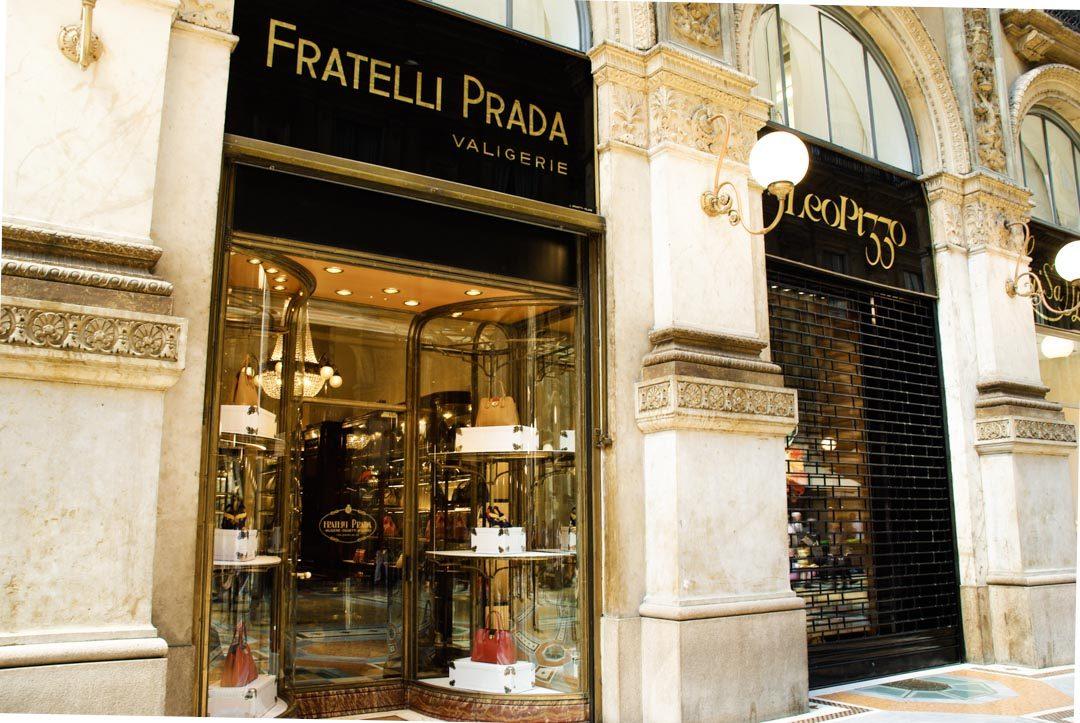 Boutique Prada - Galerie Vittorio Emanuele II - Milan