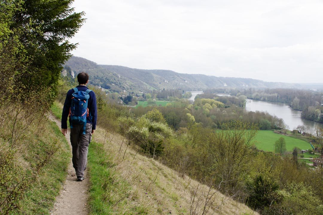 Randonnée de la cote des 2 amants dans l'Eure