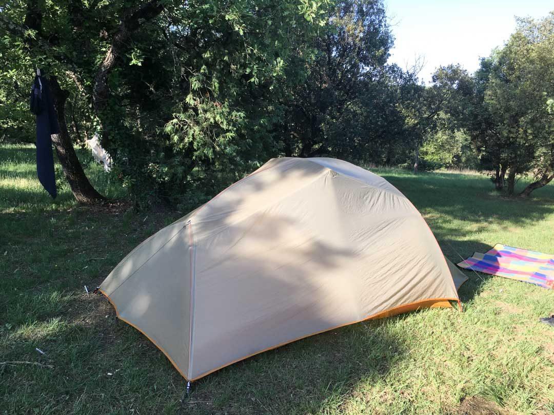 tente camping Big Agnes