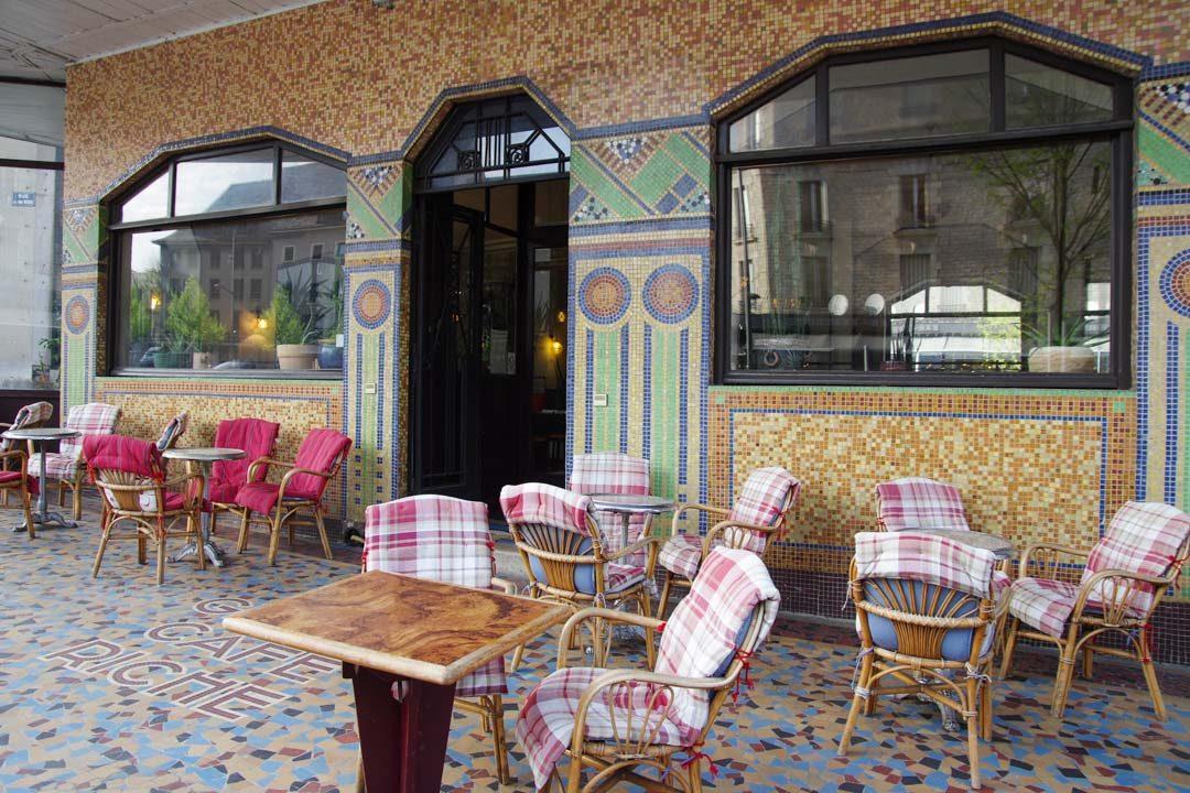 Terrasse Art Déco de l'Hôtel Mercure de Rodez
