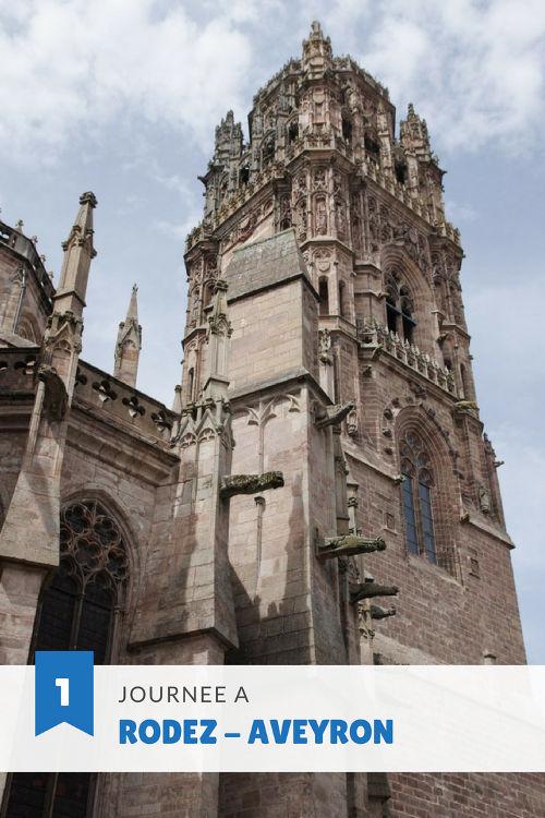 Visiter Rodez en un jour : visiter le Musée Soulages, découvrir le centre-ville et admirer la ville depuis les toits de la cathédrale