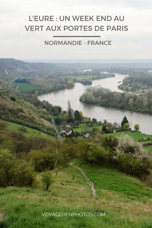 Week end dans l'Eure : une destination nature aux portes de Paris. Visite de Chateau Gaillard, randonnée sur les hauteurs de la Seine, visite de Lyons-la-Forêt un des plus beaux villages de France