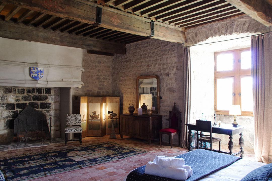 Chambre médiévale - Château de Montfaucon