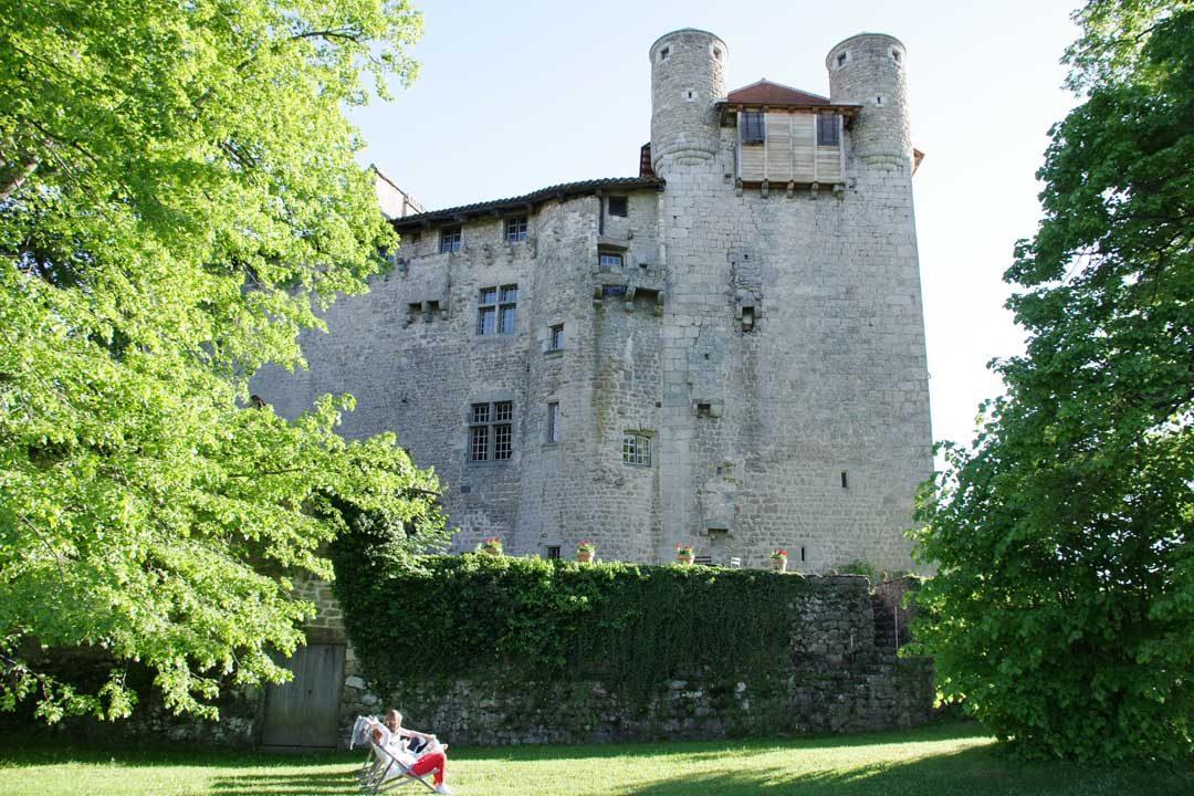 Jardins du chateau de Maisonseule