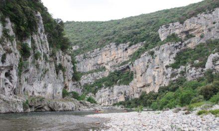 Au fil des Gorges de l'Ardèche