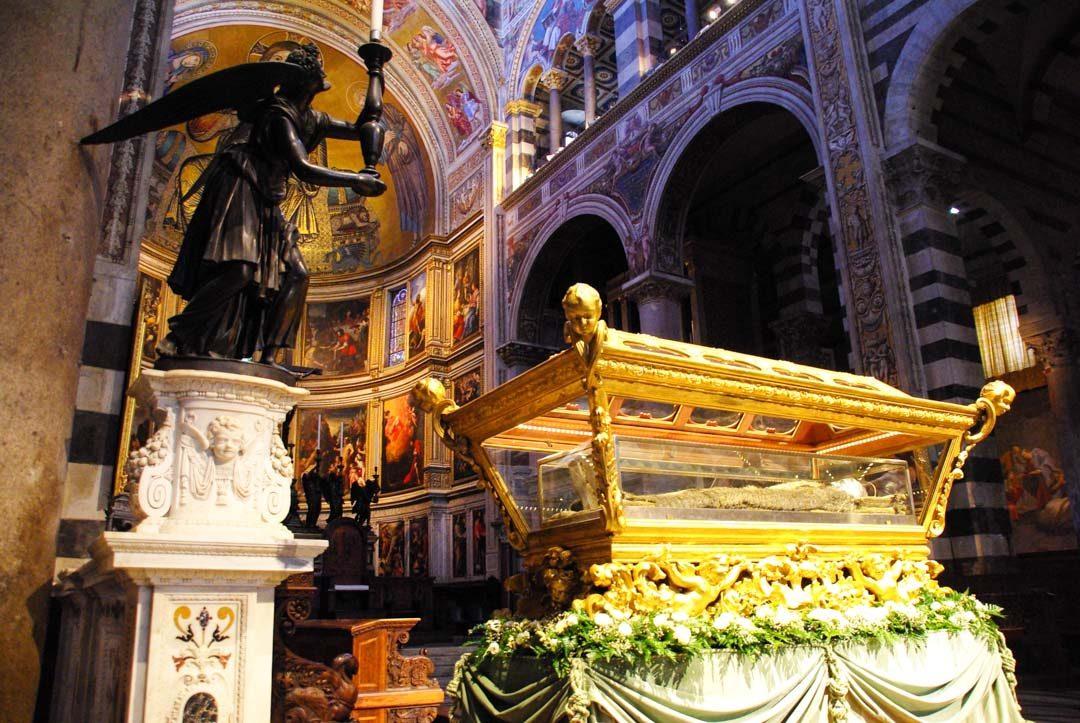 intérieur du Duomo de Pise