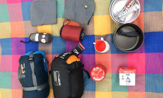 Mon matériel de camping