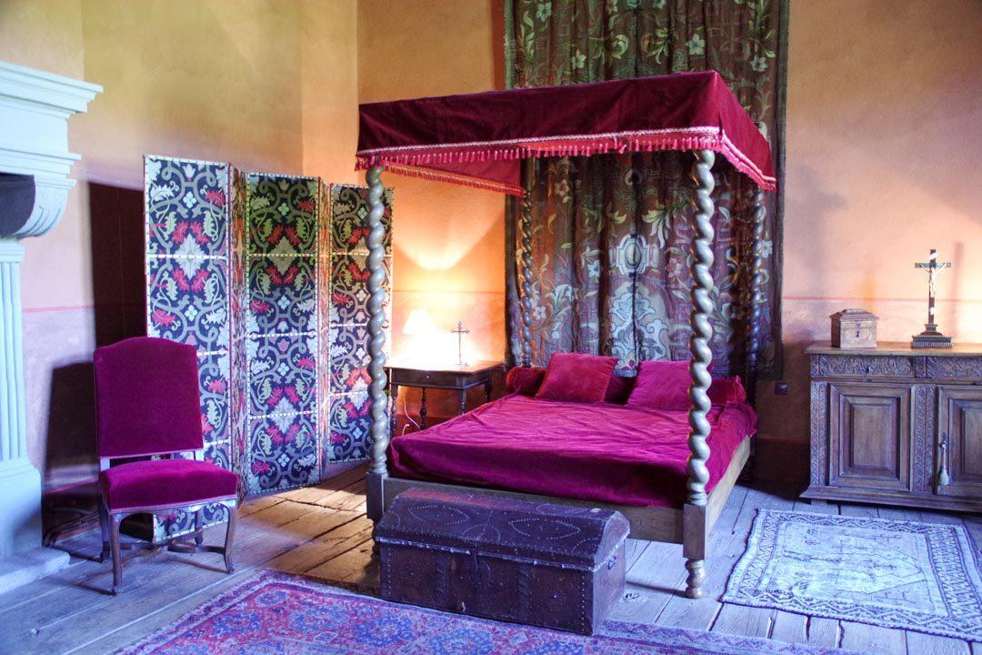 Chambre - chateau de maisonseule