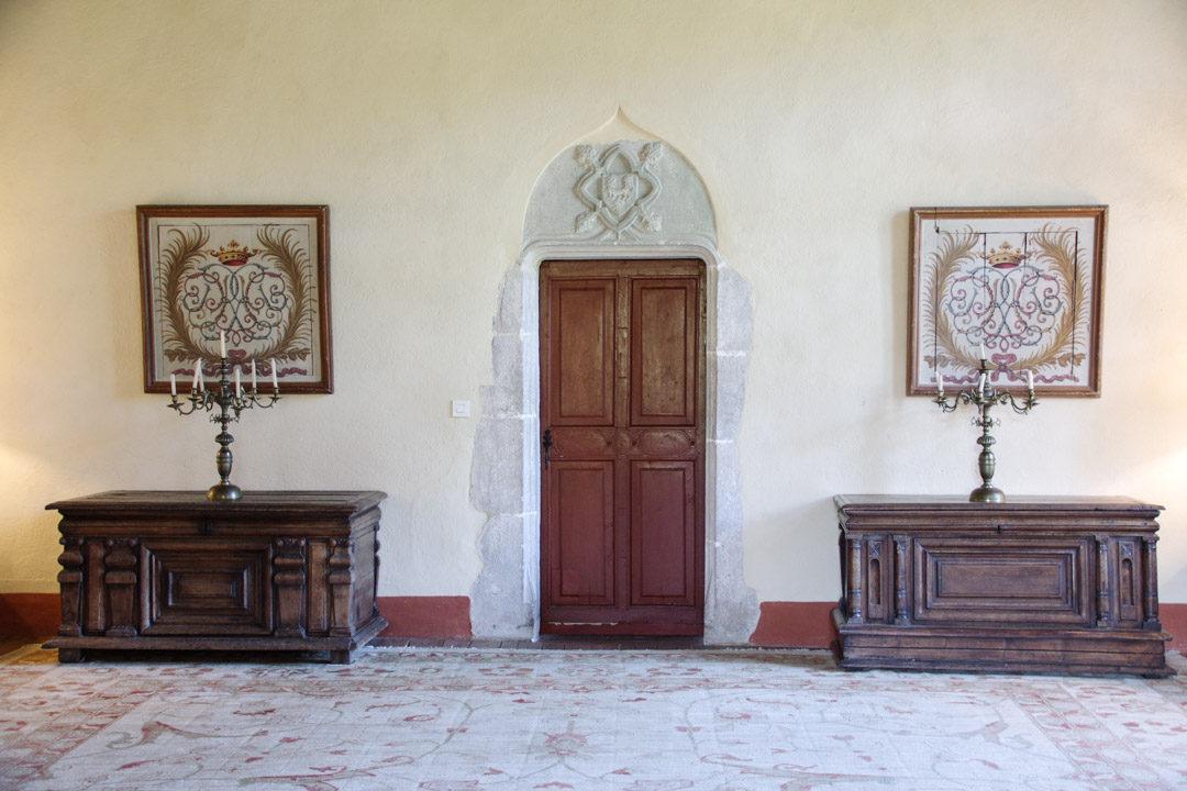 Visite du chateau de Maisonseule en Ardèche