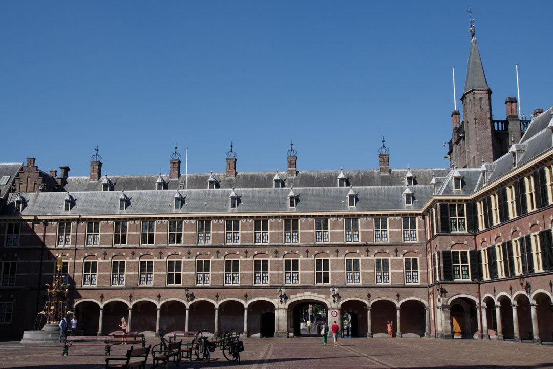 Le palais du Parlement de La Haye