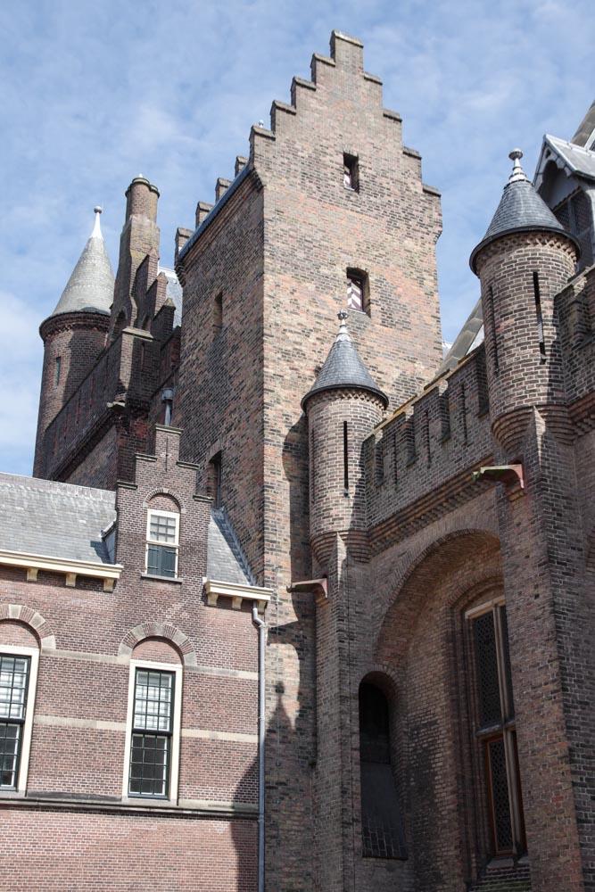 Le Binnenhof - parlement des Pays Bas