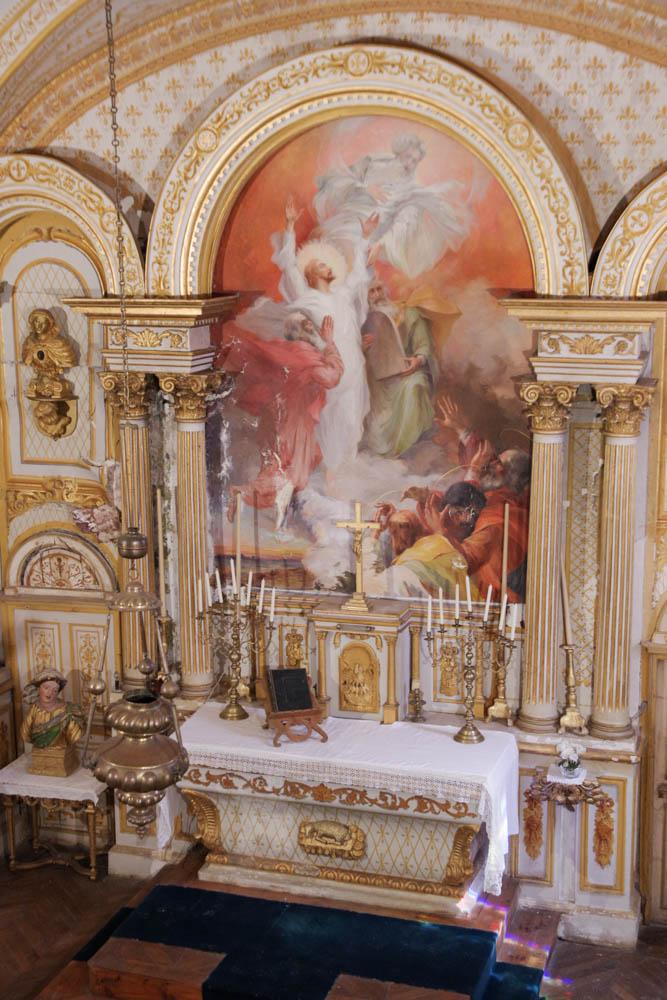 la chapelle du Chateau de la Baume