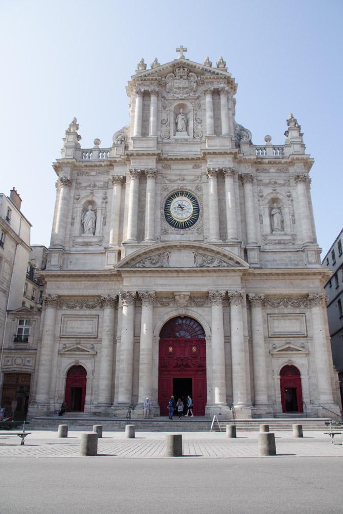 Facade principale de l'Eglise Saint Paul
