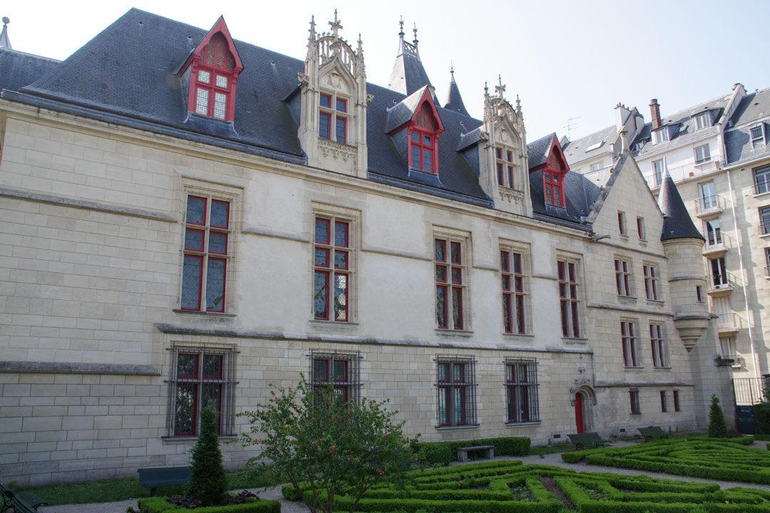 Jardin de l'Hôtel de Sens - Paris
