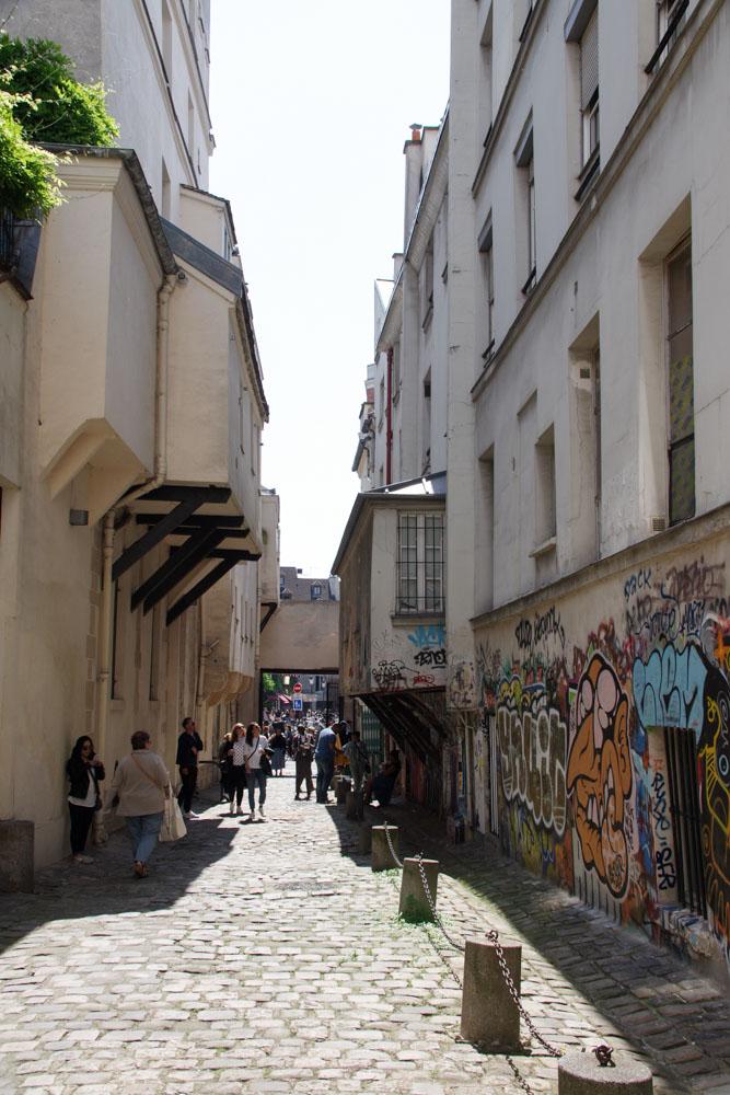 Impasse des Arbalatriers à Paris