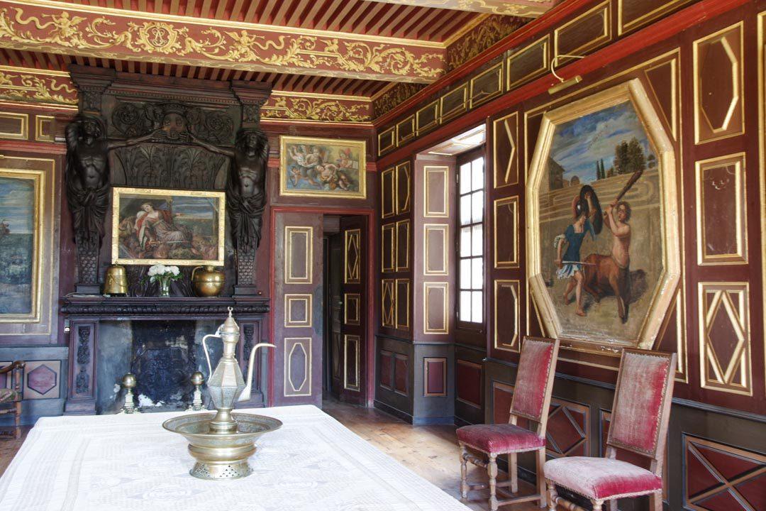 visite du chateau de la Baume