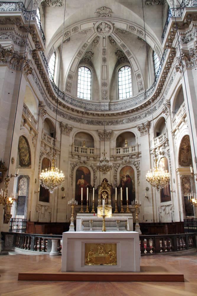 Intérieur de l'eglise Saint Paul