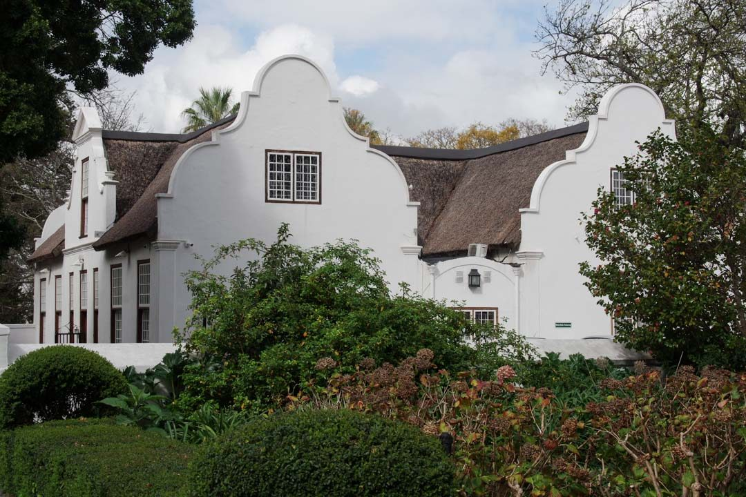 Maisons de style Cape Dutch à Stellenbosch