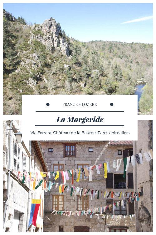 Que faire en Margeride ? Visite du château de la Baume, via ferrata, village médiéval du Malzieu, le Parc des Loups du Gévaudan, Réserve des Bisons d'Europe