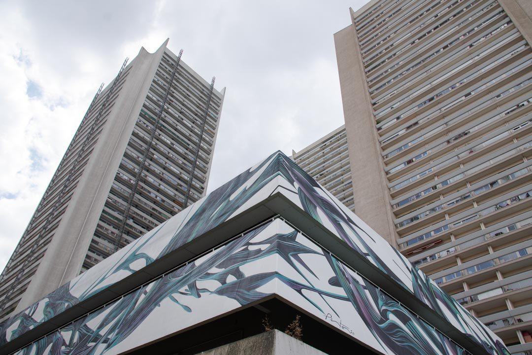 Parcours Street Art 13 - Boulevard Vincent Auriol