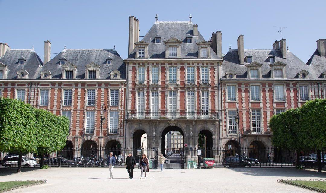 Balade dans le quartier du Marais à Paris