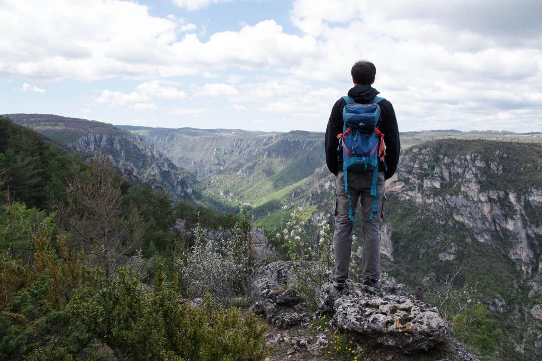 Randonnée au Roc des Hourtous - Gorges du Tarn