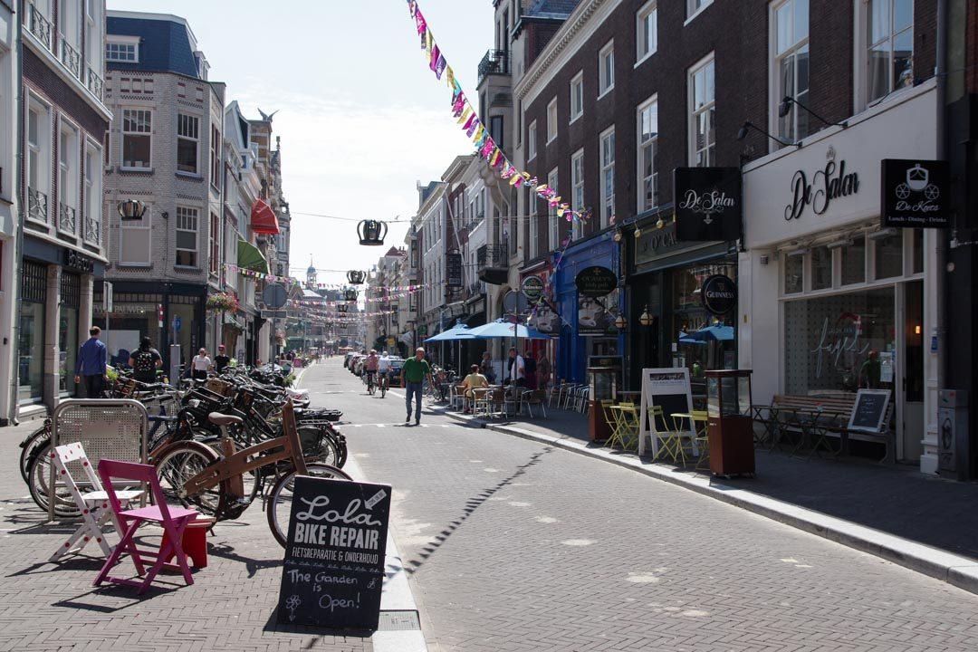 Le centre ville de la Haye