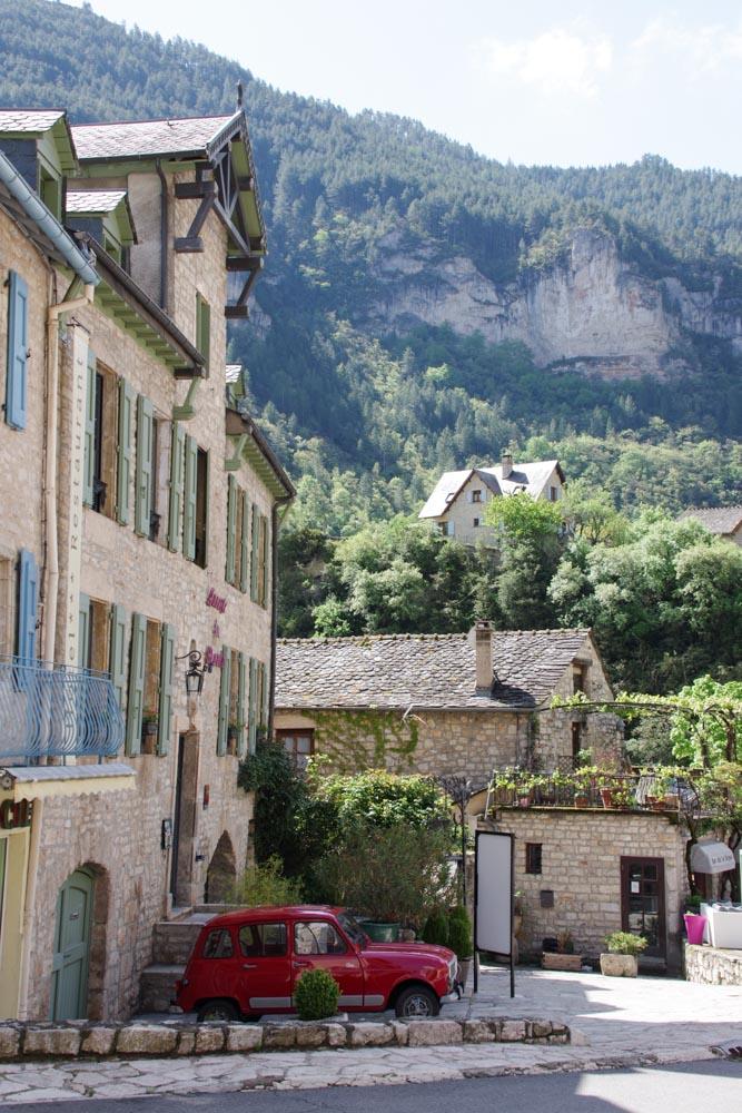 visite du village de Sainte Enimie