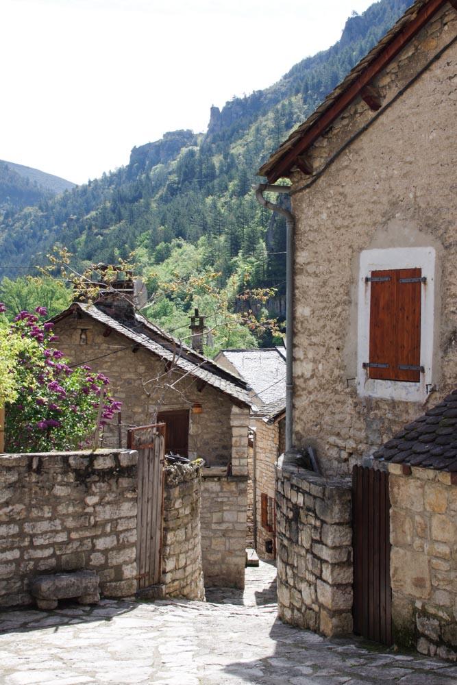 Sainte Enimie, un des plus beaux villages de France en Lozère