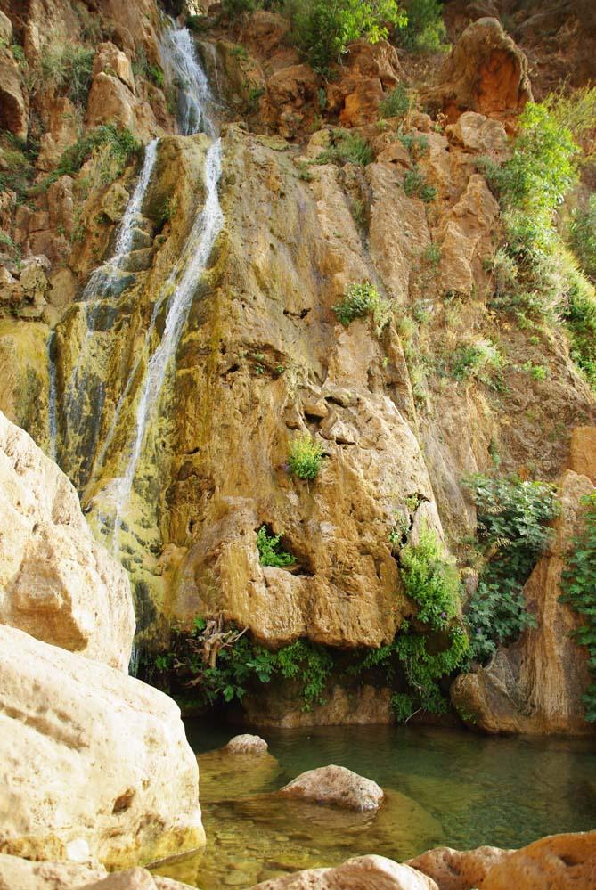 cascade d'Imouzzer des Ida Outanane l'été