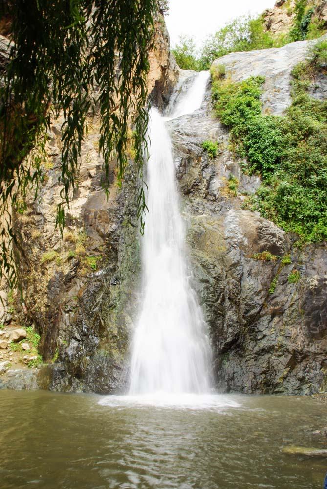 Cascade de Setti Fatma dans la vallée de l'ourika