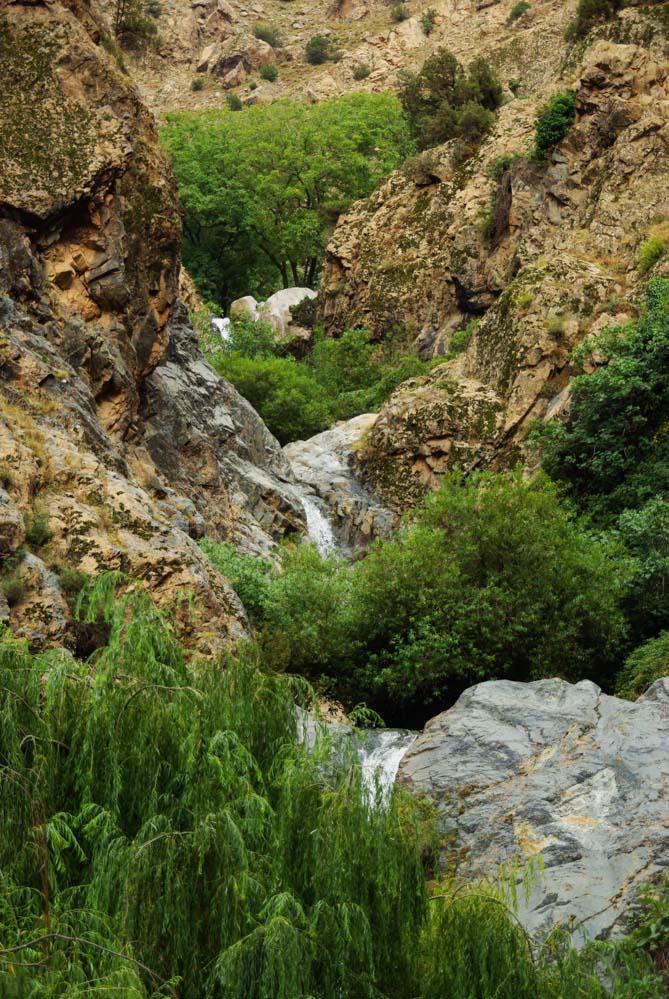 randonnée des cascades de Setti Fatma